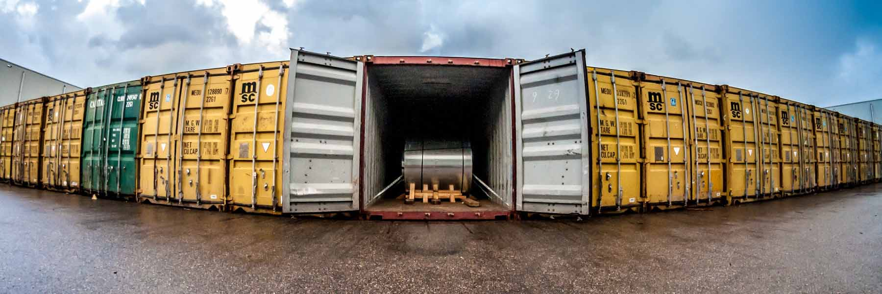 container vracht